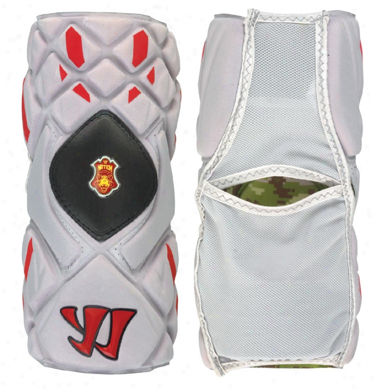 Warrior Nation D Pad Lacrosse Arm Pad