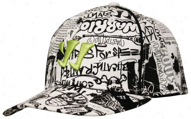 Warrior Newsprint Flat Brim Exceed